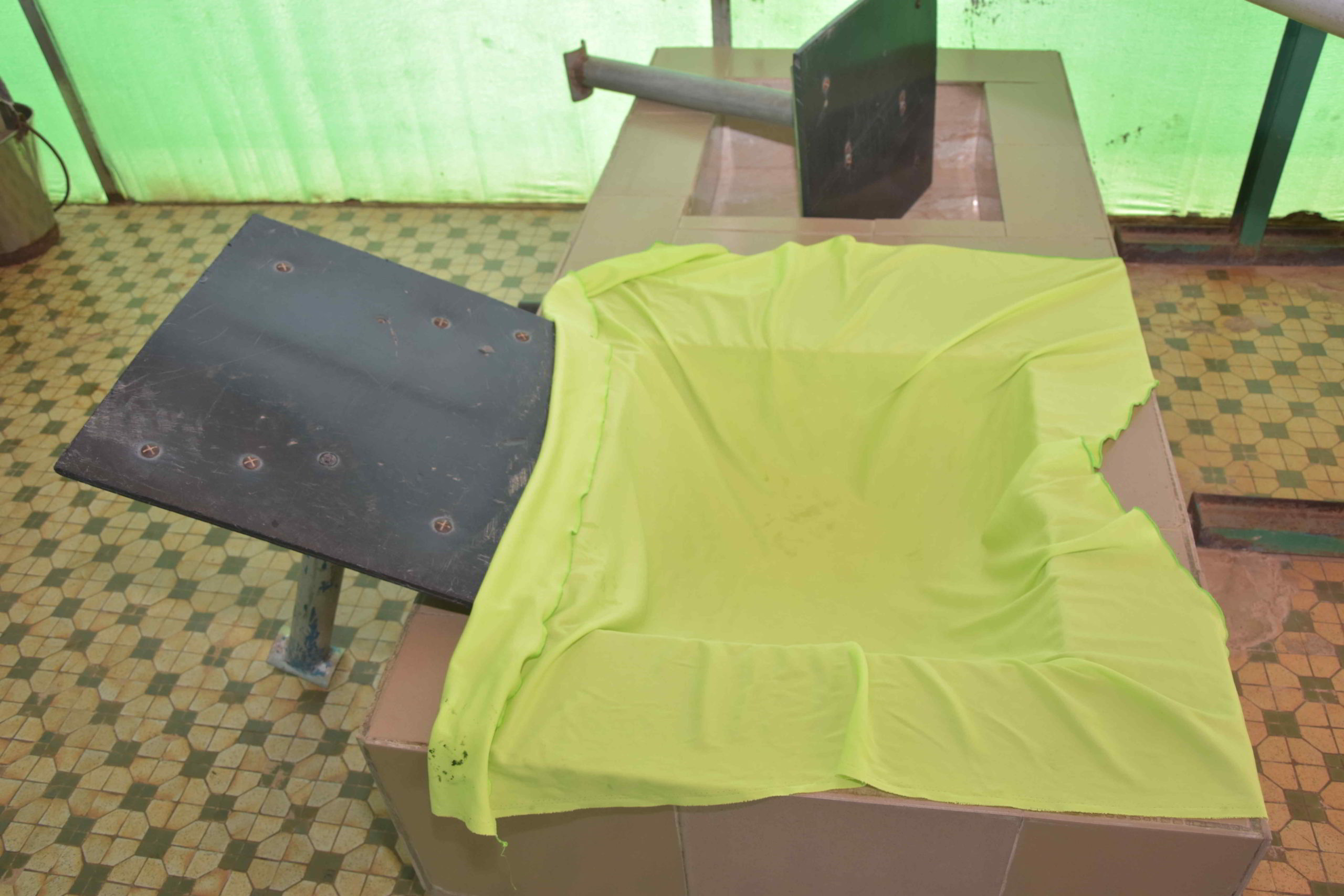 photo d'une presse à spiruline
